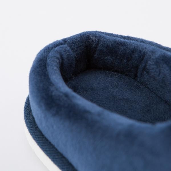 【任3件3折】騎士暖藍拖鞋-生活工場