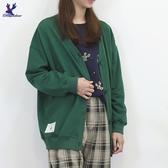 【秋冬新品】American Bluedeer - 羅紋針織罩衫 二色