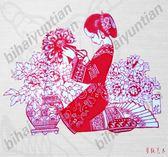 手工成品紙質剪紙 人物百餘款 新年節窗花剪紙福剪紙中國風   名購居家