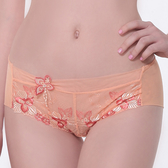 LADY 天堂樂園系列 低腰平口褲 ( 珊瑚橘 )