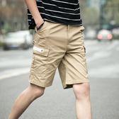 大呎碼短褲夏季寬鬆大碼休閒直筒薄短褲 JD3683【3C環球數位館】
