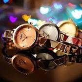 石英錶-簡約時尚潮流手鍊造型女手錶5色71r15【時尚巴黎】