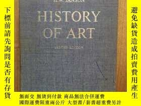 二手書博民逛書店HISTORY罕見OF ART: A Survey of the