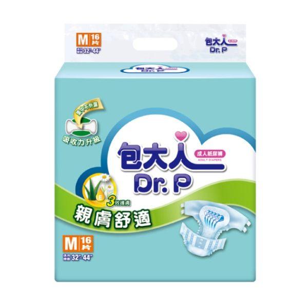 經濟型包大人紙尿褲M-L 6包【杏一】