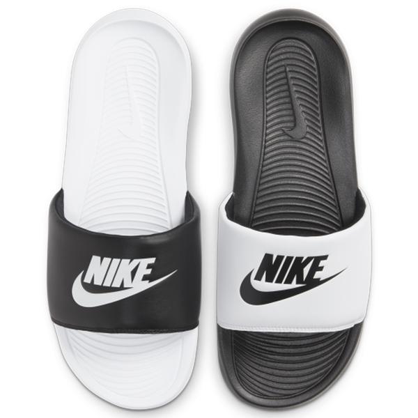 Nike Victori One Slide MIX 男鞋 女鞋 拖鞋 海灘 新款 海綿 陰陽 黑白【運動世界】DD0234-100 / DD0228-100