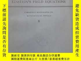 二手書博民逛書店EXACT罕見SOLUTIONS OF EINSTEIN S f