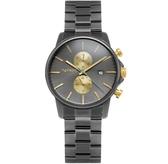 【台南 時代鐘錶 TAYROC】英國簡約現代風 沉穩氣質時尚手錶 TXM111 鐵灰 42mm