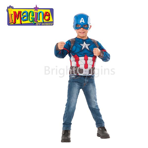 美國imagine 裝扮服飾 - 美國隊長(G31719)