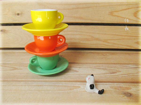 ~佐和陶瓷餐具~【23M70CS特厚濃縮咖啡杯組 70cc】/ 濃縮咖啡杯 杯碟組 /