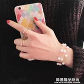 韓國韓版時尚多層珍珠手?甜美清新簡約手環學生配飾手飾手鐲手圈