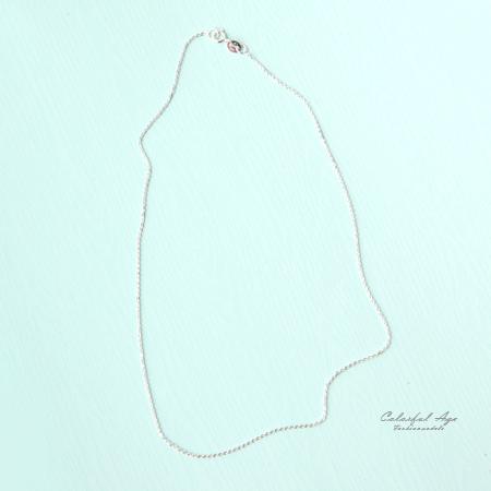 925純銀項鍊 頸鍊短鍊 柒彩年代【AP3】單條