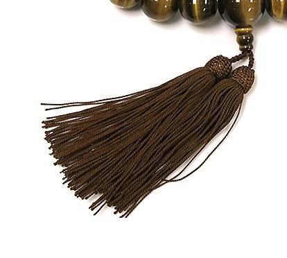 [協貿國際]天然虎眼石手念珠正絹流蘇八宗單個價