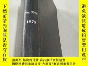 二手書博民逛書店NITROGEN罕見Nos 93-98 1975 氮Y21282