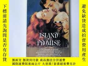 二手書博民逛書店Island罕見of Promise(無極島)英文原版 小32開