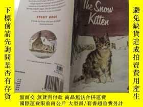 二手書博民逛書店the罕見suow kitten ,小貓咪Y200392