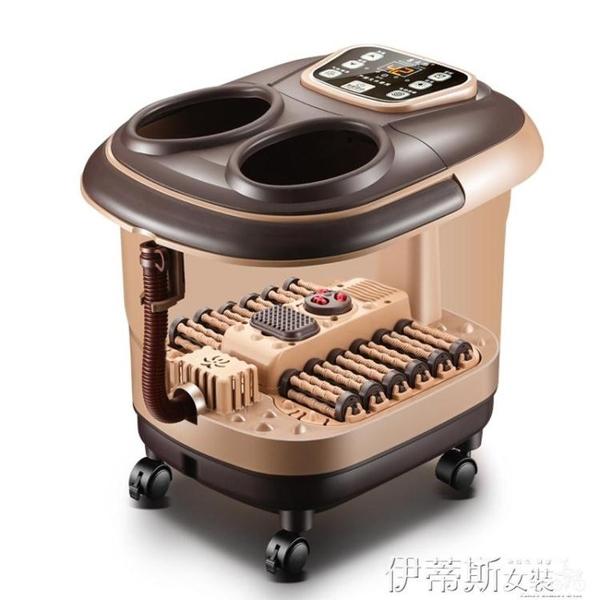 新品泡腳機足浴盆全自動按摩洗腳盆足浴器電動加熱恒溫泡腳桶機家用深桶 聖誕交換禮物LX
