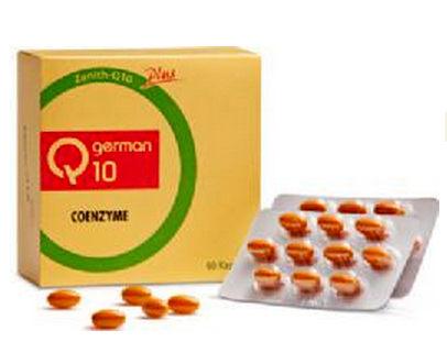 維骨力 常青十倍素Q10 60粒/盒【媽媽藥妝】德國原裝進口