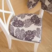 布藝椅子墊子坐墊北歐簡約椅墊加厚餐椅墊