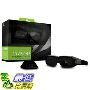 [107美國直購] 無線眼鏡套件組 Nvidia 942-11431-0007-001 3D Vision2; Wireless Glasses Kit
