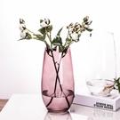歐式時尚插花恐龍蛋造型花器 簡約彩色玻璃花瓶客廳裝飾品擺件 LJ5185【極致男人】