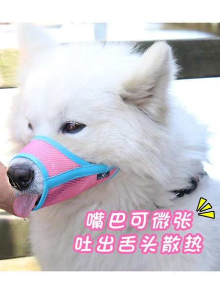 狗狗嘴套寵物用品亂吃防叫防咬口罩