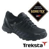 Treksta ADT 101 男 Gore-Tex 防水低筒登山鞋 (腳底透氣技術 / 抗菌鞋墊) 黑 |戶外|短筒健行鞋 KR16HM