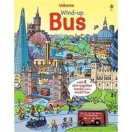 【麥克書店】WIND-UP BUS BOOK /內附1台小公車