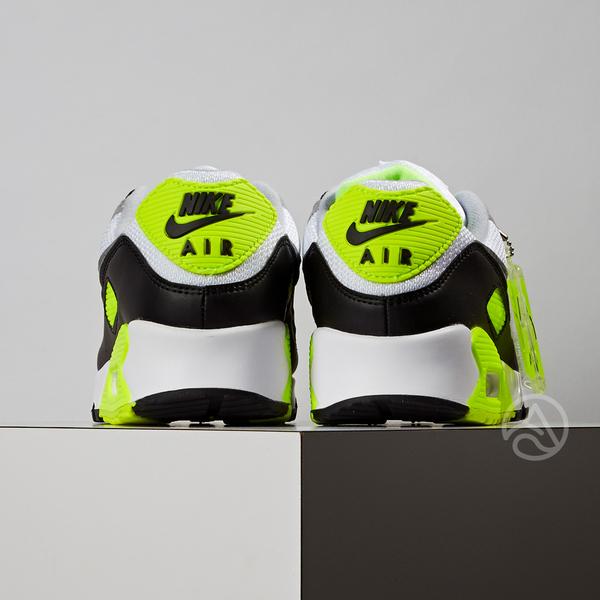 Nike Air Max 90 男女鞋 黑灰黃 休閒 復古 氣墊 慢跑鞋 CD0490-101 / CD0881-103