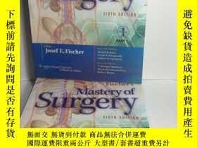 二手書博民逛書店Fischer s罕見Mastery of Surgery(套裝
