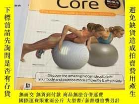 二手書博民逛書店英文原版:Core:罕見Anatomy of Fitness 有