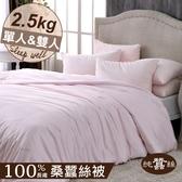 【岱妮蠶絲】BY25991天然特級100%長纖桑蠶絲被-2.5kg