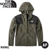 【The North Face 女 防風外套《灰綠》】4973/薄外套/春夏外套/防風夾克/戶外