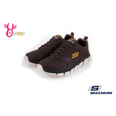 Skechers運動鞋 男鞋SKECH-FLEX記憶鞋墊跑步鞋 健身訓練鞋 快跑鞋 S8227#咖啡◆OSOME奧森鞋業