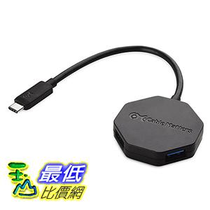 [美國直購] Cable 202046-BLK Matters Ultra Mini 4-Port USB 3.1 to USB2.0 Hub with Type C (USB-C) 集線器