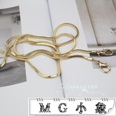 MG 鍊條-全銅方盒蛇骨鍊子鍊包包鍊條