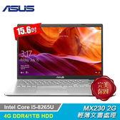 【ASUS 華碩】X509FJ-0131S8265U  15.6吋筆電 冰河銀