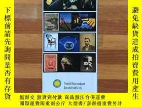 二手書博民逛書店史密森尼學會導覽地圖及介紹Smithsonian罕見Institution Guide & Map(英文版,雙面內