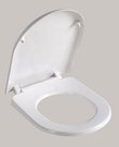 【麗室衛浴】國產  抗菌  緩降馬桶蓋 AT9449  品質好非一般市售塑料能比  A-455-1