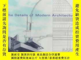 二手書博民逛書店The罕見Details of Modern Architect
