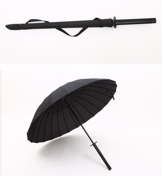 日本 雨傘 武士刀 鋼傘 雨傘 效能雨傘 抗UV 武士刀 防曬 抗紫外線 武士高