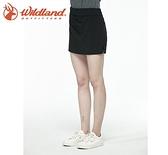 丹大戶外【Wildland】荒野 女彈性透氣抗UV假兩件短裙 0A81381-54