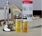 油瓶玻璃防漏油壺家用大號調味料醬香油小醋瓶罐廚房用品【快速出貨八五折免運】