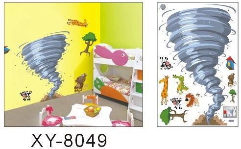 大款XY-8049第三代可移動式DIY藝術裝飾無痕壁貼/牆貼/防水貼紙