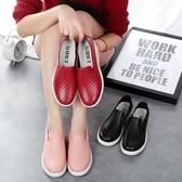 韓國淺口雨鞋女時尚成人低幫短筒防滑防水鞋廚房工作膠鞋情侶夏季