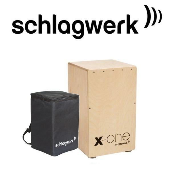 【非凡樂器】Schlagwerk 斯拉克貝克 SWPD-CP104 X-One木箱鼓 / 贈鼓袋 公司貨