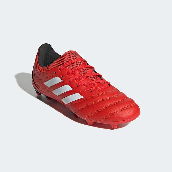ADIDAS 兒童足球釘鞋 大釘 COPA 20.3 FIRM GROUND BOOTS EF1914 紅黑 20SS