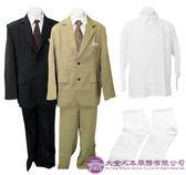 【大堂人本】西式男性壽衣 西裝 (黑、青、灰)。