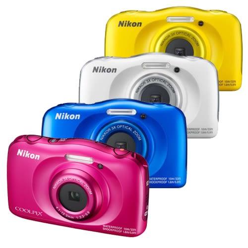 {32G超值全配}Nikon COOLPIX W100 防水 防寒 防摔  公司貨