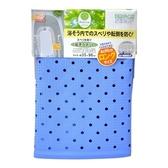 【特惠組】日本waise浴缸專用 大片加長止滑墊 (藍色) 2入組