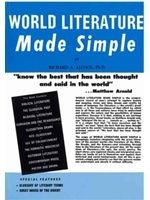 二手書博民逛書店《World Literature Made Simple》 R